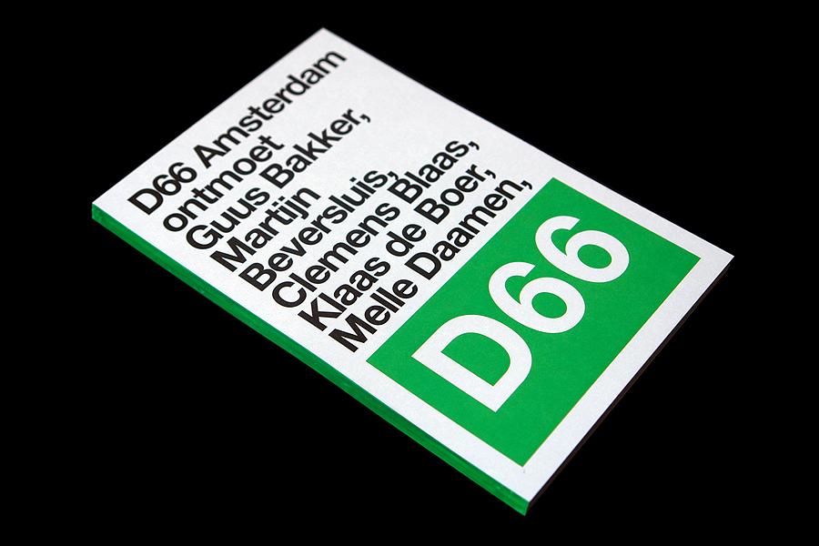 D66 Amsterdam ontmoet / D66 Amsterdam meets