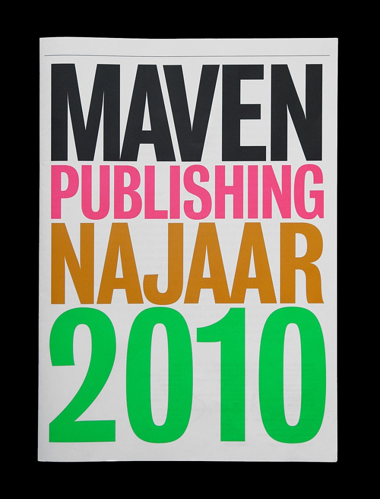 Maven Publishing Fall 2010 Matt van Leeuwen