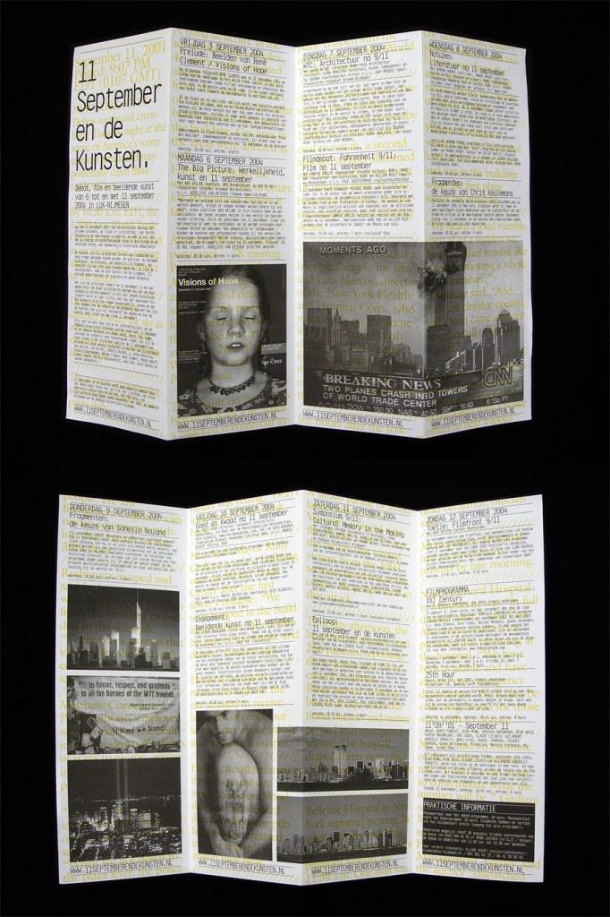 11 September en de kunsten (September 11th and the arts), Matthijs Matt van Leeuwen, Gerco Hiddink