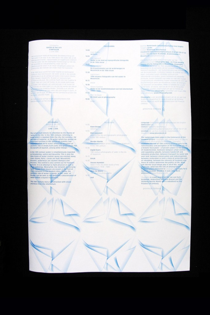Citygraphy, Matthijs Matt van Leeuwen, Jan van Eyck, Poster
