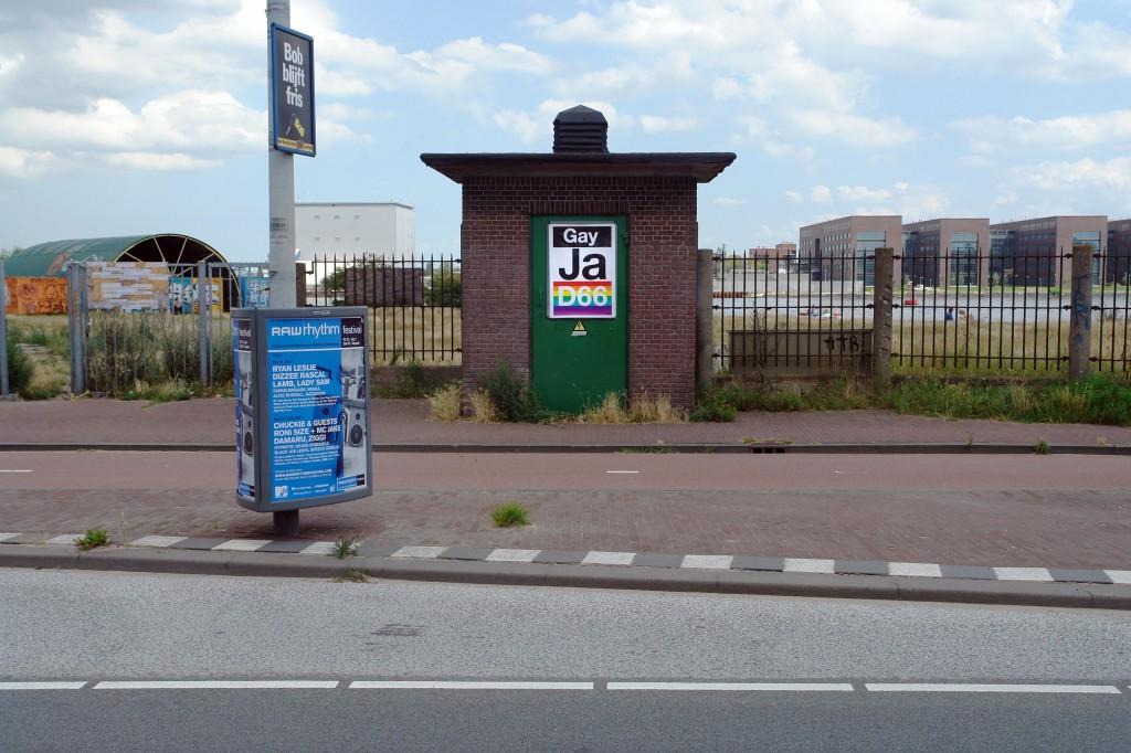 Matthijs, Matt van Leeuwen, Poster, Affiche, D66 Gay Yes!