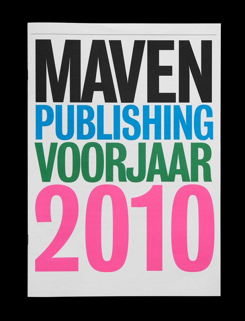 Maven Publishing Spring 2010 Catalogue