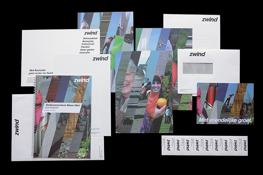 Matthijs, Matt van Leeuwen, Zwind, G2K Designers, Amsterdam, Laura Hirt, Visual Identity